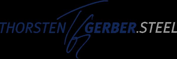 Thorsten Gerber Steel Logo groß