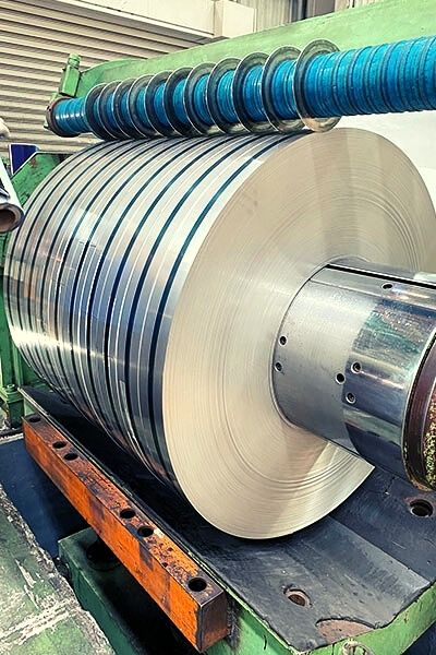 Strip and Slit Coil Services: Stainless Steel and Special Metals 1